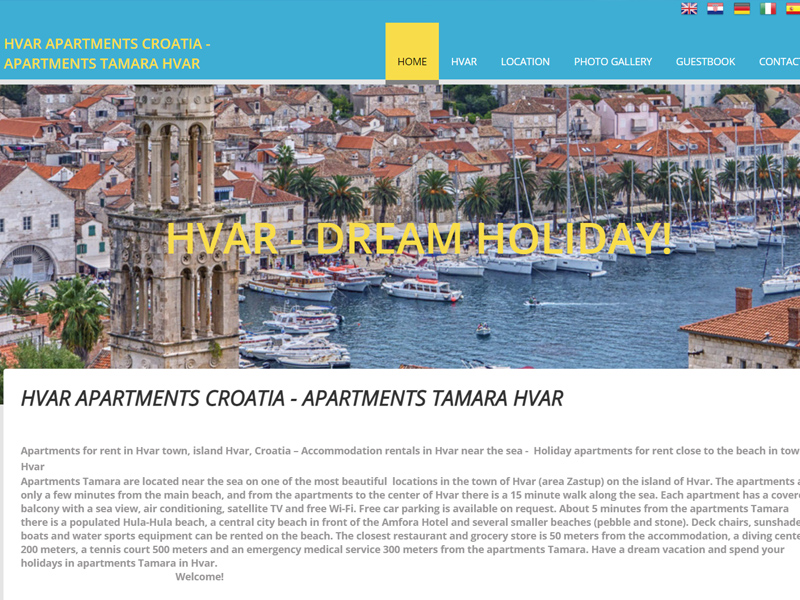 Hvar Apartments Croatia